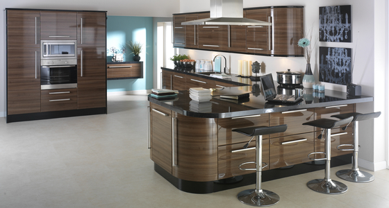 3D Solutions Apollo Dark Walnut Gloss