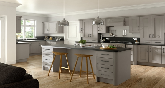 3D Solutions Buckingham Stone Grey