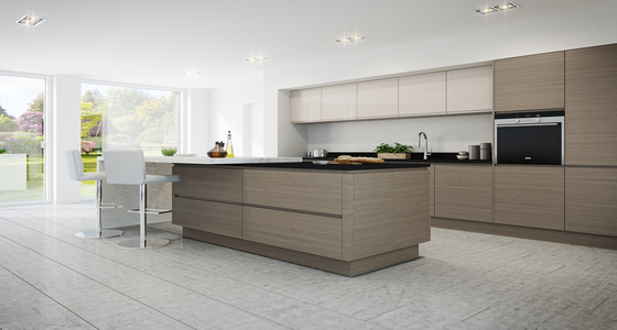 Burbidge Isala Warm Grey Oak