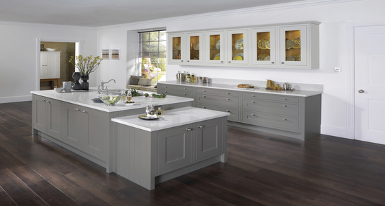 Burbidge Petworth Painted French Grey.