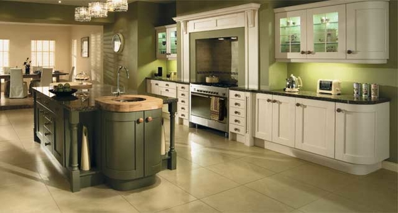 Kitchen Stori Madison Ivory and Olive