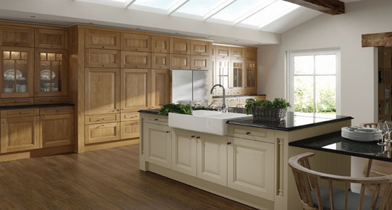 Kitchen Stori Jefferson Oak and Ivory