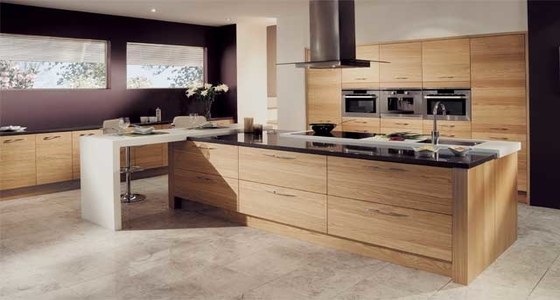 Kitchen Stori Tavola Light Oak