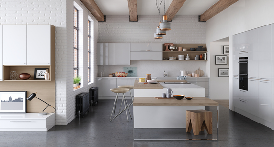 Kitchen Stori Zola Light Grey