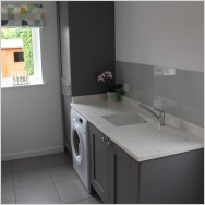 Completed Utility Room