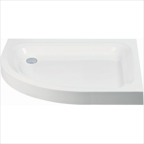 Aquaglass - 1000x800mm Quadrant LH Shower Tray