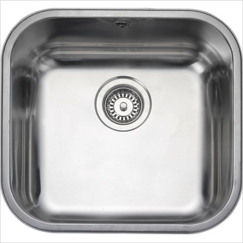 Rangemaster Sinks - Rangemaster Classic UB40 Single Bowl Sink