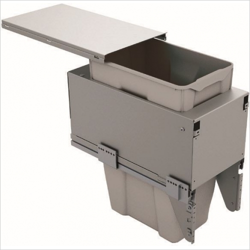 Sige Recycling Bins - Inter-Bin 300mm Wide Unit, 35ltr Capacity