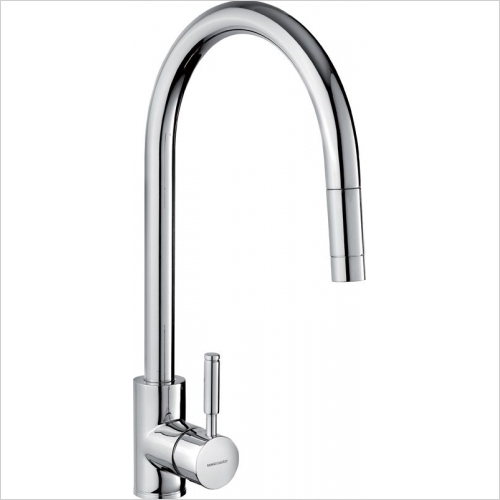 Rangemaster Taps - Rangemaster Aquatrend TRE1SLPOCM Single Lever Pull Out Tap