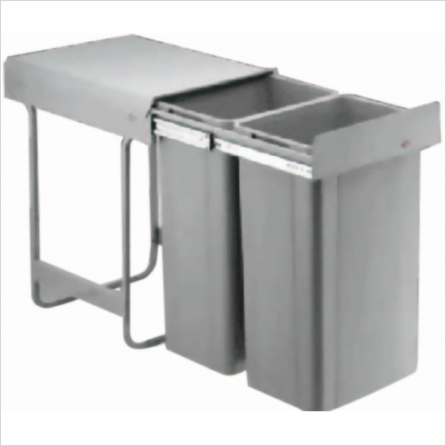 Herbert Direct Waste Bins - Large Capacity Bin 400mm