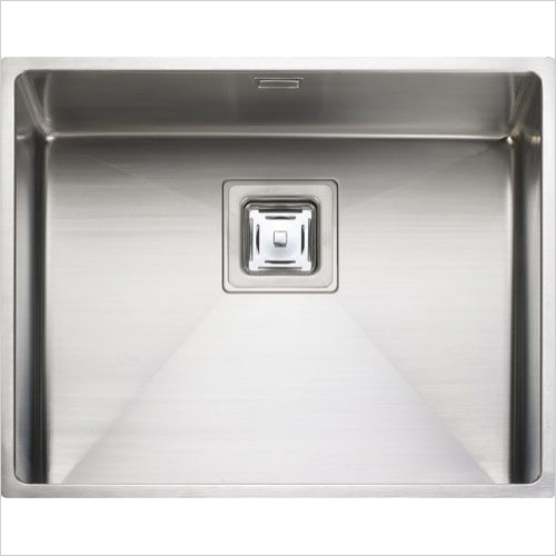 Rangemaster Sinks - Rangemaster Atlantic Kube KUB50 Single Bowl Sink
