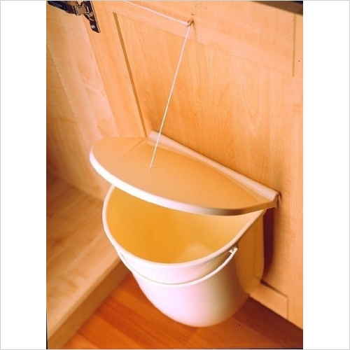 Second Nature Waste Bins - Door Mounted Waste Bin, 12l