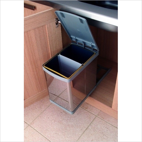 Second Nature Waste Bins - Pull-Out Waste Bin, 20 Litre