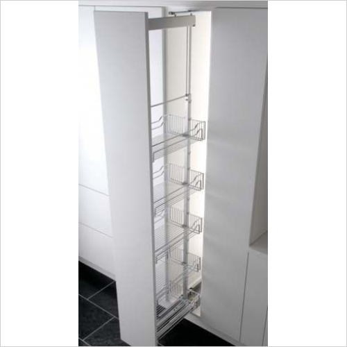 Kessebohmer - Classic 300mm Full Extension Larder Unit, 1800-2200mm High