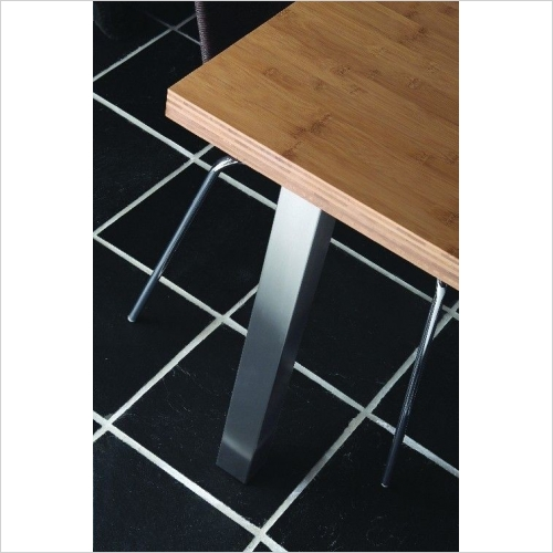 Second Nature Legs - Adjustable Square Worksurface Support Leg 870mm High