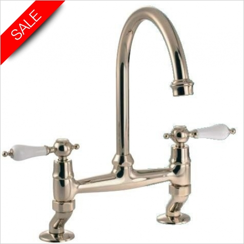 Clearwater Kitchen Taps - Clearwater Elegance Bridge Tap