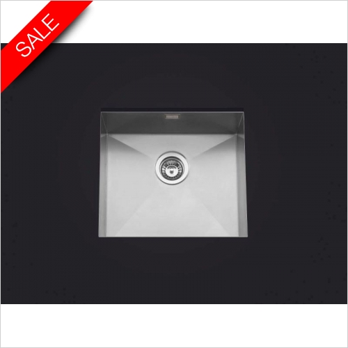 Clearwater Kitchen Sinks - Clearwater Stark Undermount 1.0 Bowl Sink