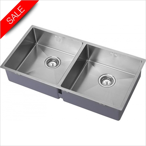 The 1810 Company Sinks - Zenduo 15 400/400U Undermount Sink