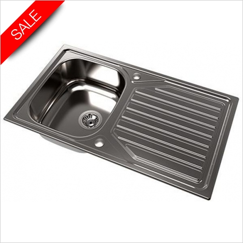 The 1810 Company Sinks - Veloreuno Single Bowl Sink 860I