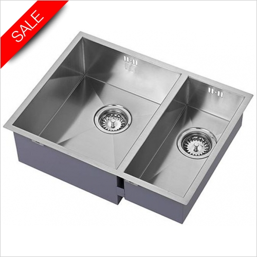 The 1810 Company Sinks - Zenduo15 340/180U BBL Undermounted Sink