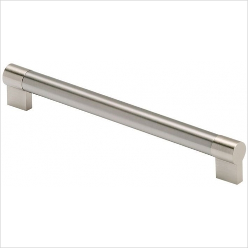 DIY Luxury Kitchens - 55911 Keyhole Bar Handle 456mm Centres 22mm Diameter