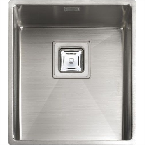 Rangemaster Sinks - Rangemaster Atlantic Kube KUB34 Single Bowl Sink
