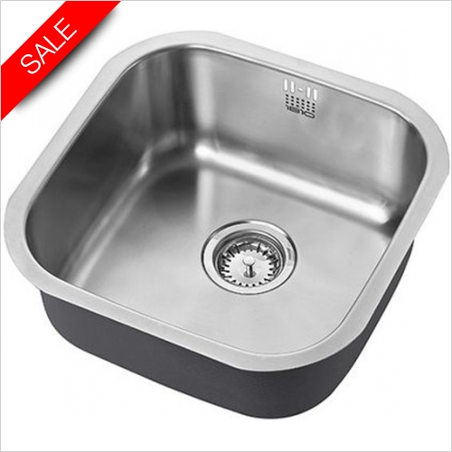 The 1810 Company Sinks - Etrouno 400U Undermount Sink