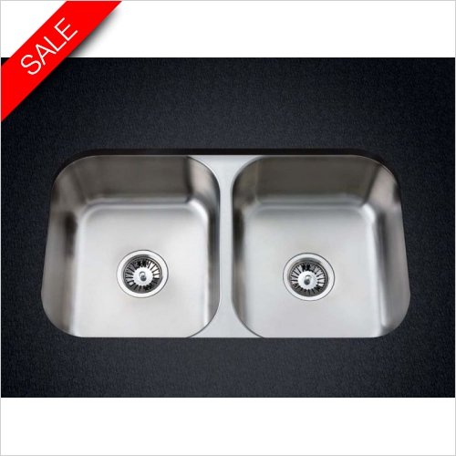 Clearwater Kitchen Sinks - Clearwater Symphony Undermount 2.0 Bowl Sink