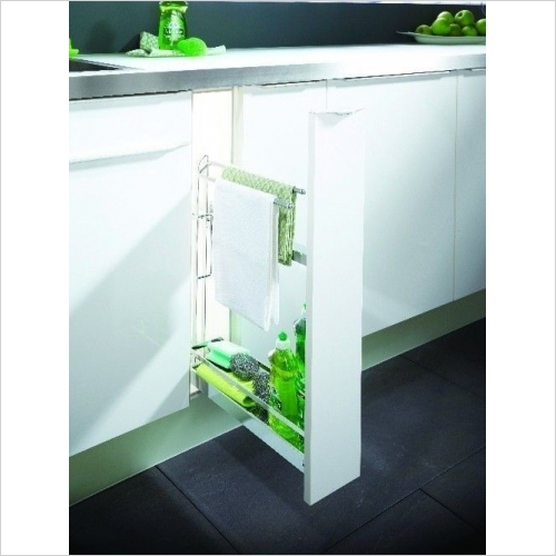 Kessebohmer - Classic Base Unit Towel Pull-Out, 150mm Wide