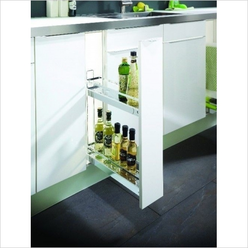 Arena Style Base Unit Pull-Out, 150mm Wide
