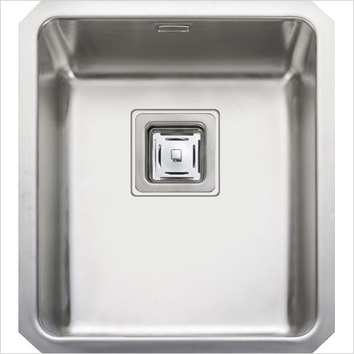 Rangemaster Sinks - Rangemaster Atlantic Quad QUB34 Single Bowl Sink