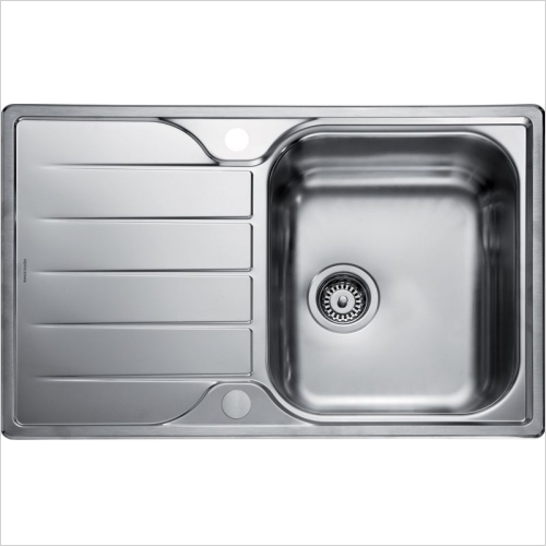 Rangemaster Sinks - Rangemaster Michigan MG8001 Single Bowl Sink & Drainer
