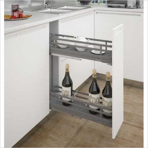 Sige Storage Solutions - Orion Narrow Pull-Out 150mm Wide Unit
