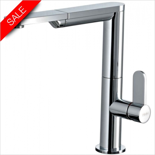 Gessi - Gessi X-Sense Single Lever Monobloc With Pull Out Rinse