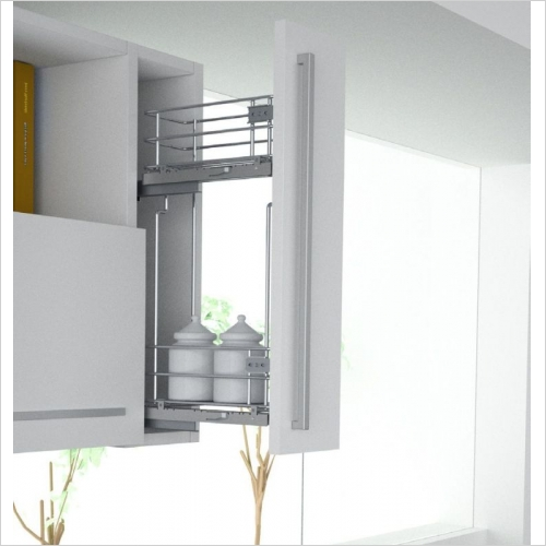Sige Storage Solutions - Pull-Out For Wall Unit 150mm, 520mm H Sige