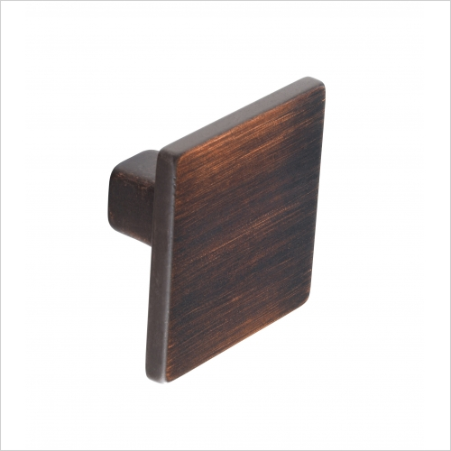 Second Nature Handles - Square Knob, 35mm