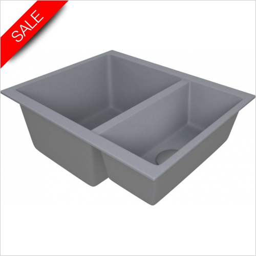 The 1810 Company Sinks - Cavaduo 335/155U Undermount Sink