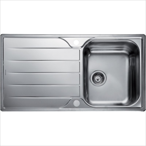 Rangemaster Sinks - Rangemaster Michigan MG9501 Single Bowl Sink & Drainer
