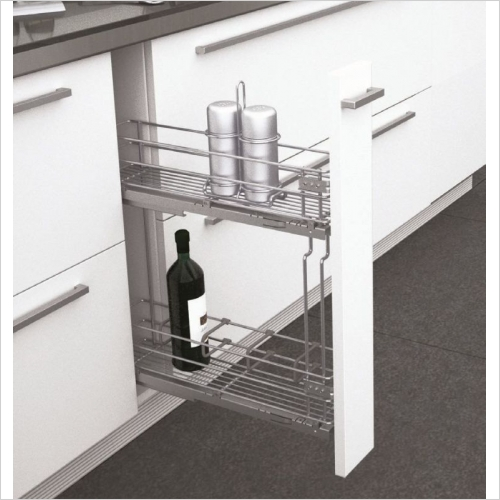 Sige Storage Solutions - Classic Narrow Pull-Out 200mm Wide Unit