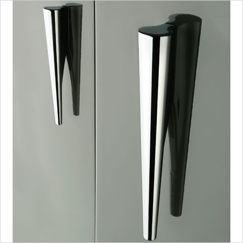 Hafele Handles - Pull Handle 96 x 280 x 22mm