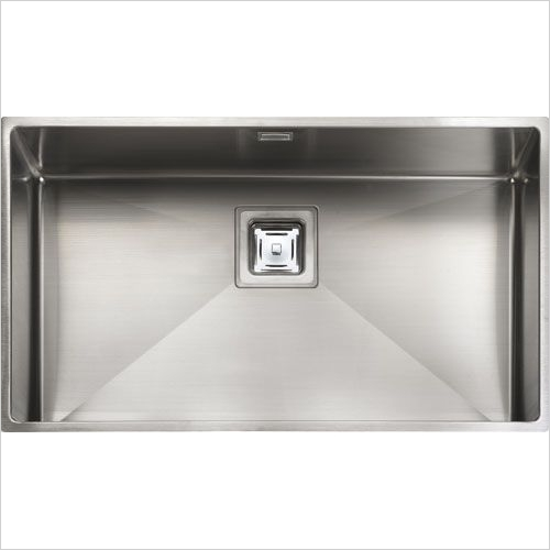 Rangemaster Sinks - Rangemaster Atlantic Kube KUB70 Single Bowl Sink