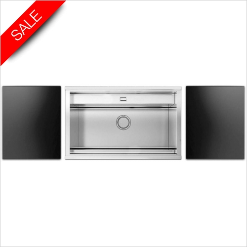 Clearwater Kitchen Sinks - Clearwater Smooth 80 Single Bowl With Tap