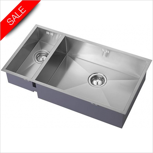 The 1810 Company Sinks - Zenduo 180/550U BBR Undermounted Sink