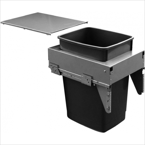Sige Recycling Bins - Inter-Bin 400mm Wide Unit, 60ltr Capacity