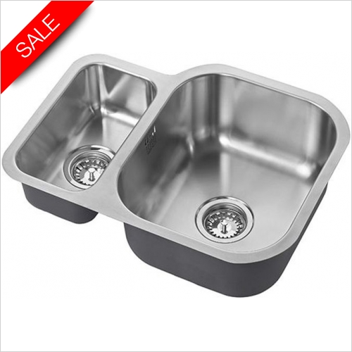 The 1810 Company Sinks - Etroduo 589/450U Undermounted Sink BBR