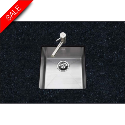 Clearwater Kitchen Sinks - Clearwater Stereo Undermount 1.0 Bowl Sink