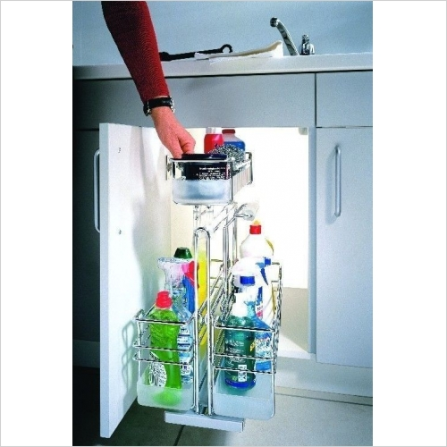 Kessebohmer - Cleaning Utensils Pull-Out Unit, 274mm Wide