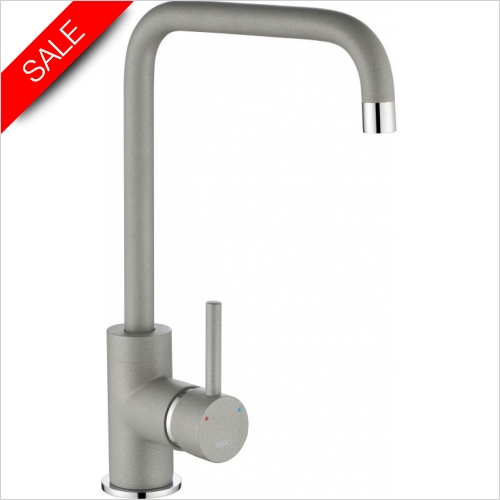 The 1810 Company Taps - Cascata Square Spout Tap Chrome - Purquartz
