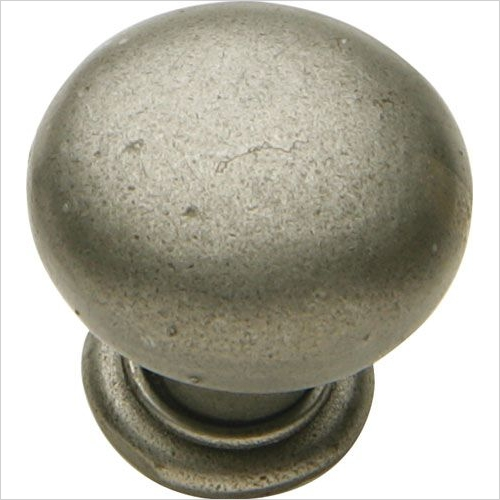Tamar Knob Cast Iron Natural D35x32mm