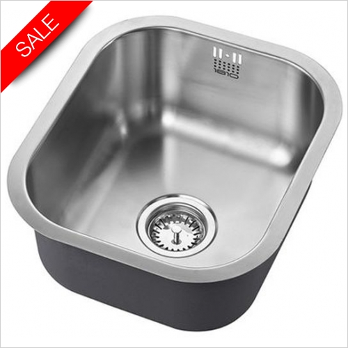 The 1810 Company Sinks - Etrouno 340U Undermount Sink